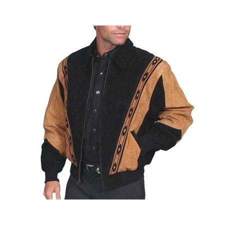 Men's Scully Two-Toned Boar Suede Rodeo Jacket 62