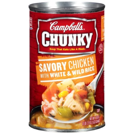Campbell's Chunky Savory Chicken with White & Wild Rice
