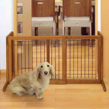 Richell Freestanding Pet Gate, Small, - Richell One Touch Gate