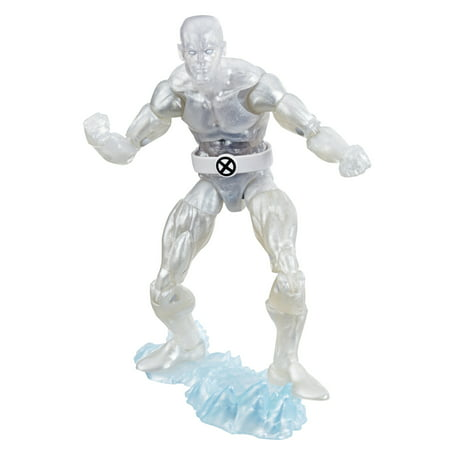 Marvel Retro 6-Inch-Scale Fan Figure Collection Iceman (X-Men) Action Figure Toy – Marvel Super Hero Collectible Series
