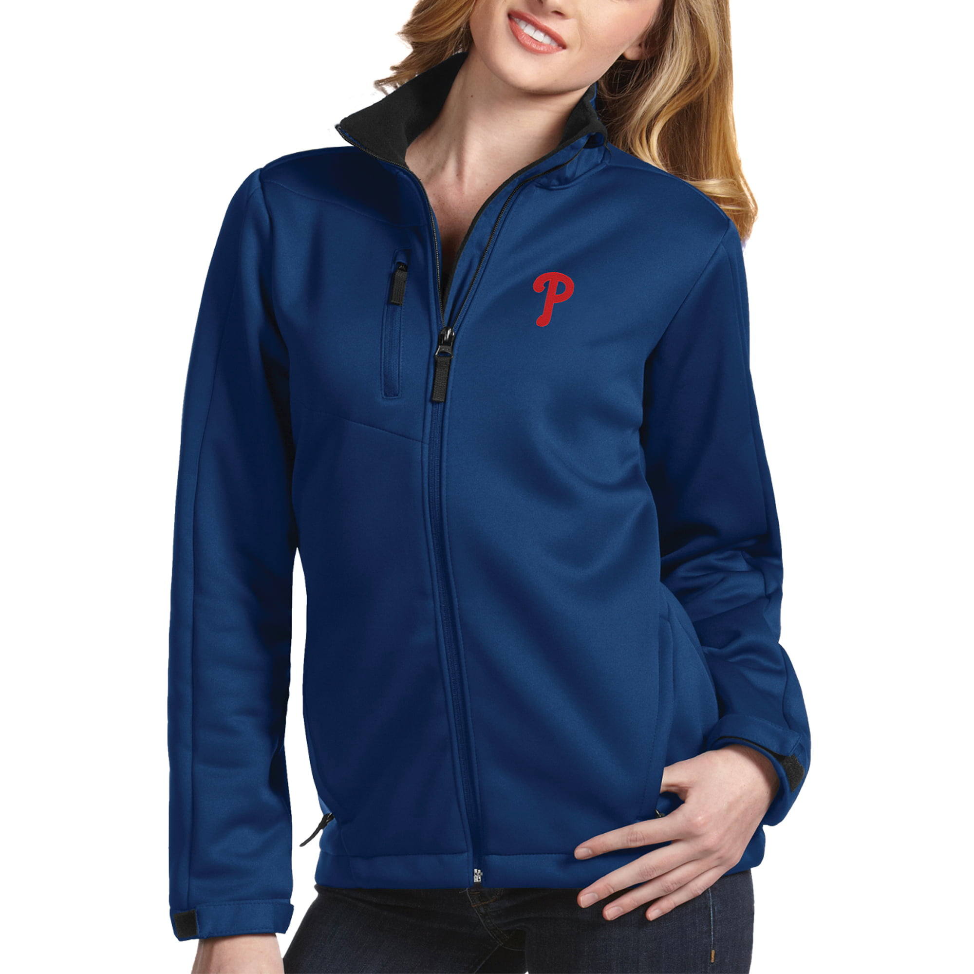 Philadelphia Phillies Antigua Women's Traverse Jacket Royal by ANTIGUA GROUP/ 22534
