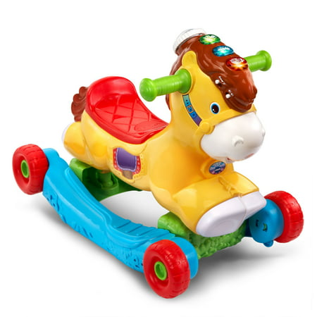VTech, Gallop & Rock Learning Pony, Interactive Ride-On