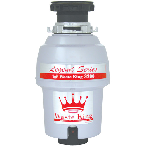 Waste King Legend Series EZ-Mount 3/4 HP Continuous Feed Garbage Disposal