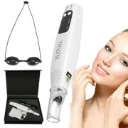 Tattoo Removal Laser Pen, Handheld Picosecond Beauty Care Pen Tattoo Scar Mole Dark Spot Skin Pigment Remover Device With Eyeglass