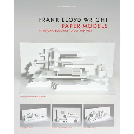 Frank Lloyd Wright Paper Models : 14 Kirigami Buildings to Cut and
