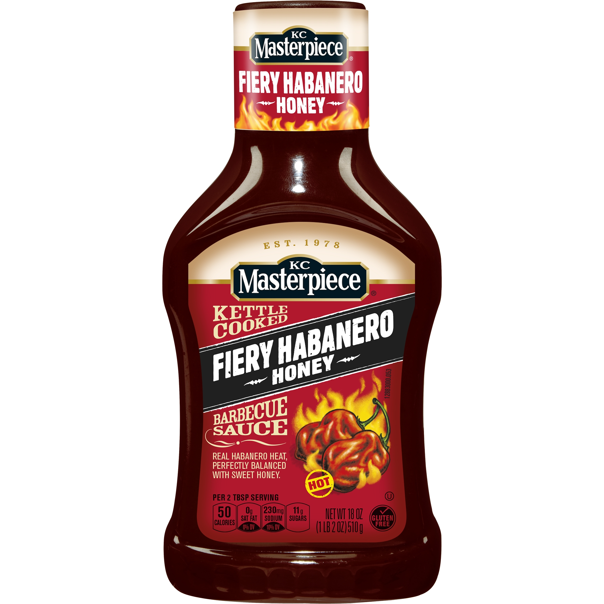 <mark>KC</mark> <mark>Masterpiece</mark> Fiery Habanero Honey Barbecue Sauce, 18 oz