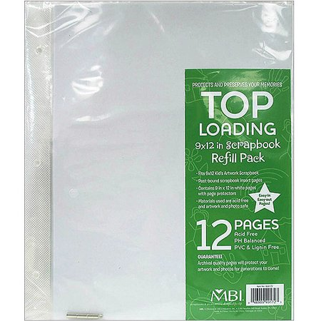 Bulk Pack Pioneer Photo Album Refill Bta 4 X 6 For Bta 204 120 Pages