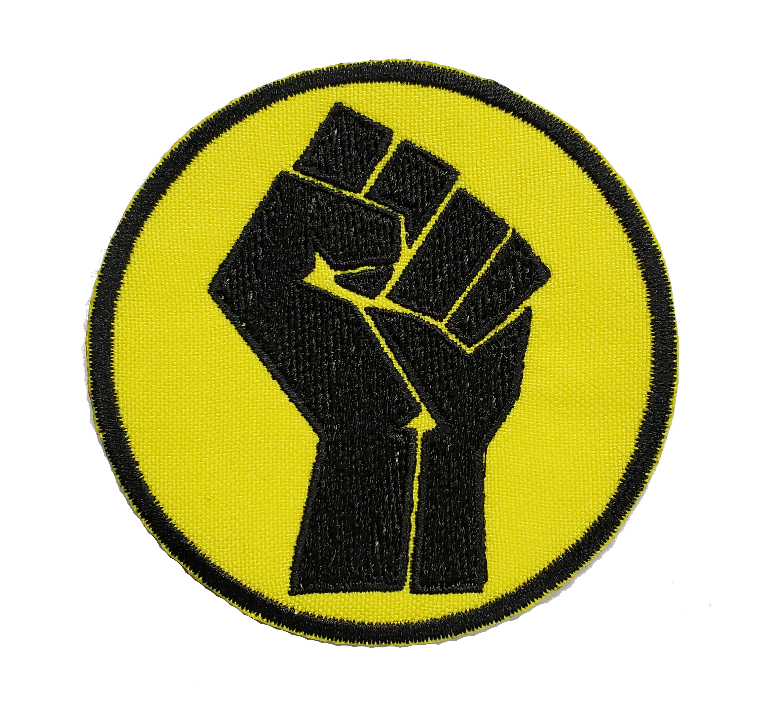 6 Pcs Black Lives Matter Iron On Patches-Fist Up Sew On Patch Applique Patch Decoration Patch for Jeans DIY Accessories Bags Clothing Repair Jacket Hats