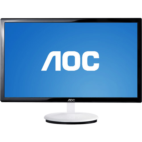 "AOC 20"" Widescreen LED Monitor, Black (E2043F)"
