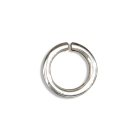 3dbb7f3e36ee2 STERLING SILVER ROUND JUMP RINGS 4.5MM (25 PIECES)