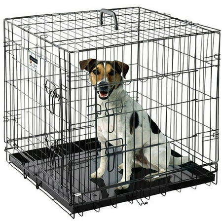 """Pet Trex Premium 36"""" Folding Pet Crate Kennel Wire Cage for Dogs Cats or Rabbits"""