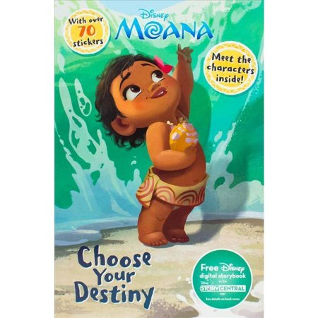 Disney Moana Choose Your Destiny  Meet The Characters Inside