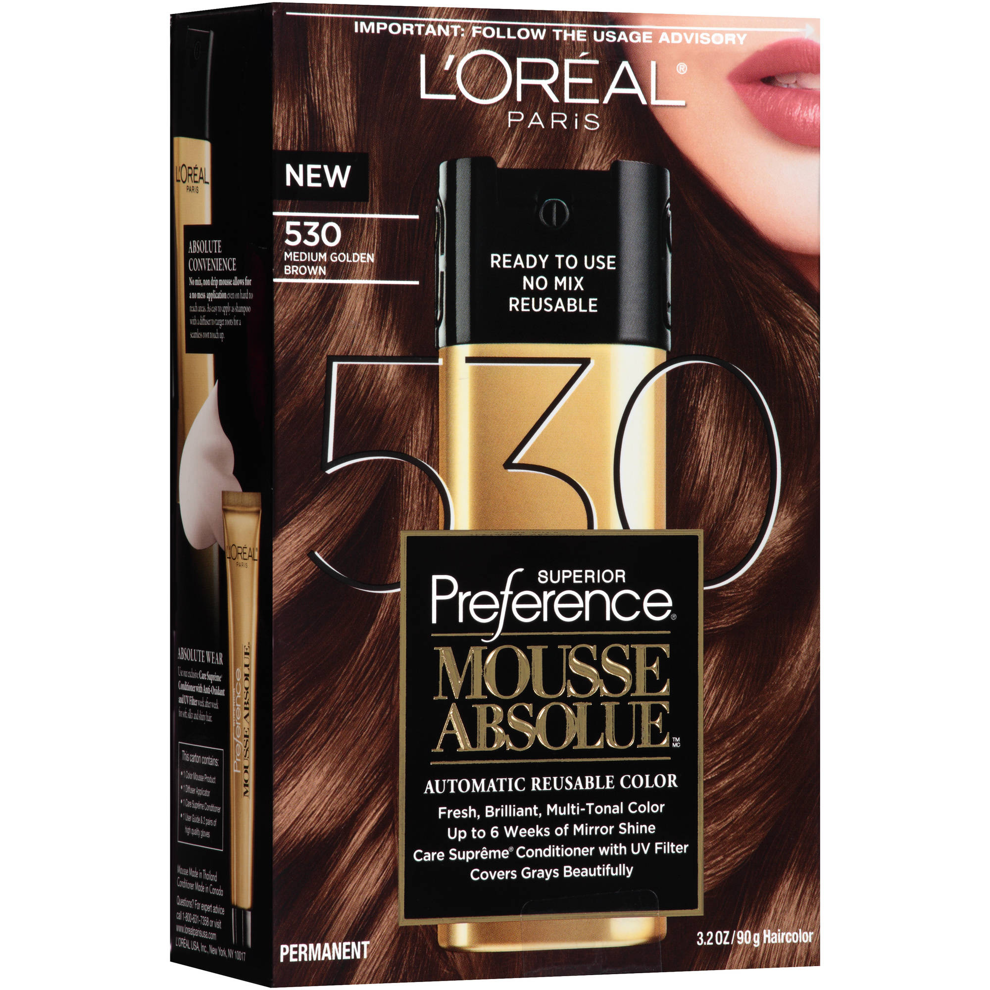 L Oreal Paris Superior Preference Mousse Absolue Hair