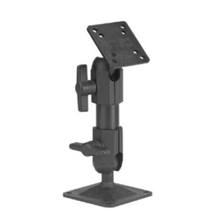 6-Inch Slimline Pedestal Mount, Overall mount height (including shaft) is 6-Inch (152.4mm) By Panavise