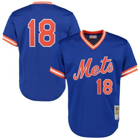 Darryl Strawberry Yankees - Darryl Strawberry New York Mets Mitchell & Ness Cooperstown Mesh Batting Practice Jersey - Royal