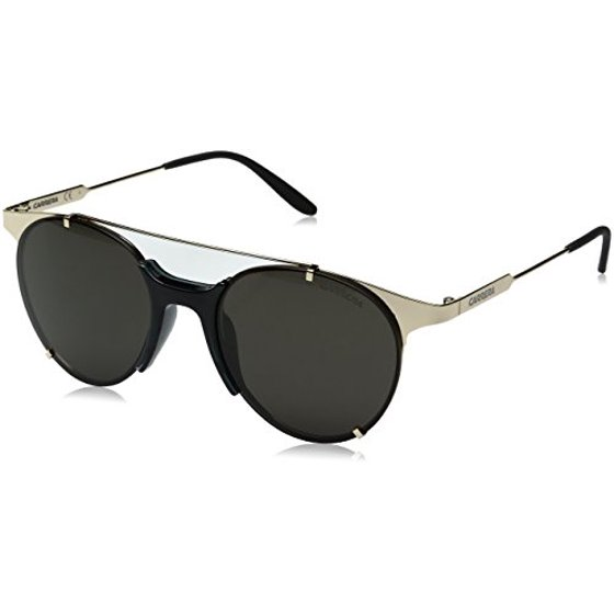 e2abbe932 Carrera - Carrera Men's Ca128s Round Sunglasses, Gold/Brown Gray, 52 mm -  Walmart.com