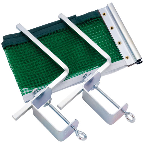 Champion Sports Slip-On Table Tennis Net and Post Set