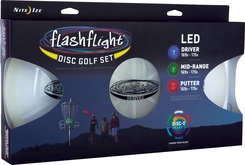 Flashflight LED Disc Golf Set Quantity of 3 PT FGDK-07-R8 by