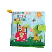 Egmy Baby Kids Soft Intelligence Development Cognize Cloth Book Educational toy