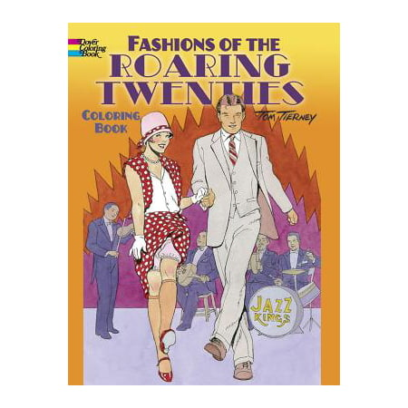 Fashions of the Roaring Twenties Coloring Book](Kids Fashion Magazines)