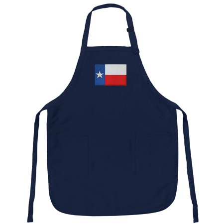 Texas Flag Apron Grilling Barbecue Or Kitchen Texas Aprons Famous Broad Bay Quality ()