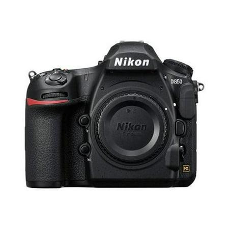 Nikon D850 45.7MP Full-Frame FX-Format Digital SLR Camera - Black (Body Only) Kit #3