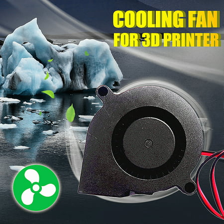 DC24V turbo DC blower small fan 5015 industrial fan cooling fan For 3D printer parts - Industrial Computer Parts