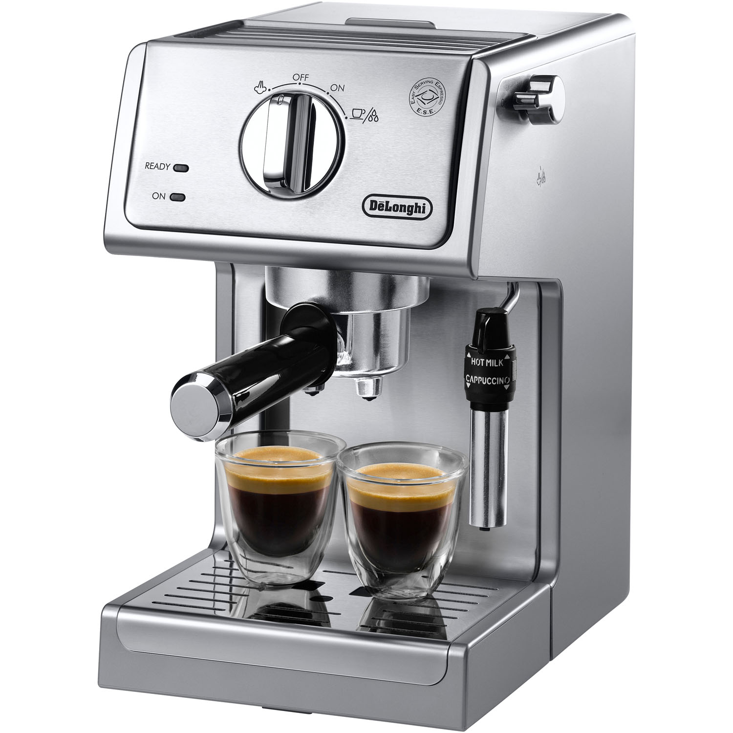 DeLonghi ECP3630 15 Bar Espresso and Cappuccino Machine with Adjustable Advanced Cappuccino System