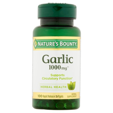 Nature S Bounty Odorless Garlic