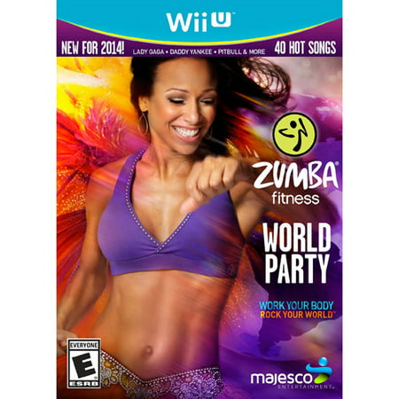 Zumba Fitness World Party Bundle (Belt Included)- Nintendo Wii U