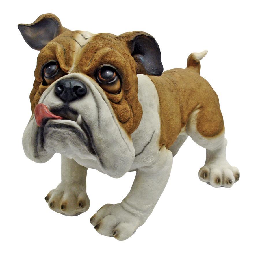Design Toscano Winston the British Bulldog Statue