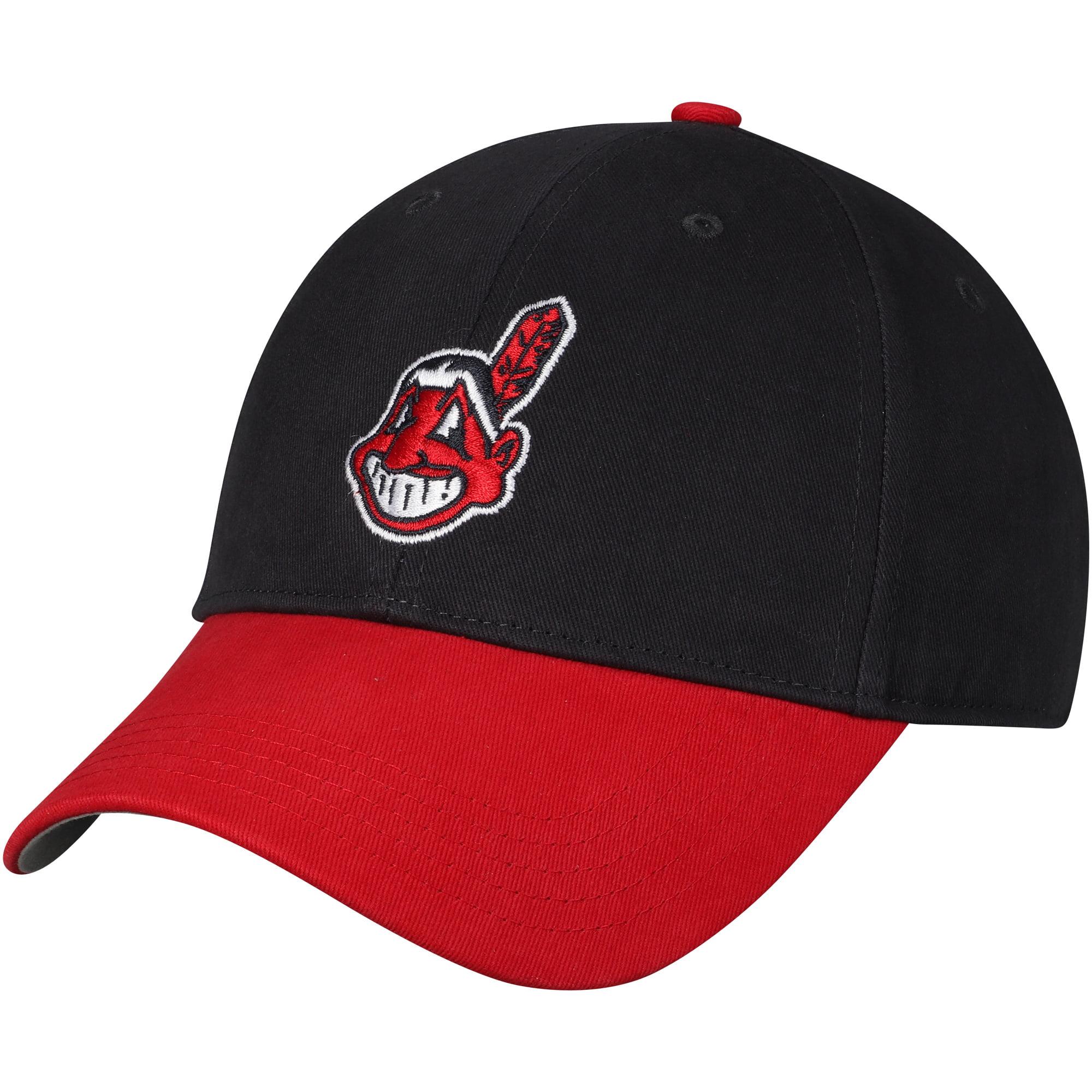 Fan Favorite Cleveland Indians '47 Youth Basic Adjustable Hat - Navy - OSFA