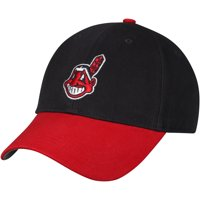 07d90d8b92b Product Image Fan Favorite Cleveland Indians  47 Youth Basic Adjustable Hat  - Navy - OSFA