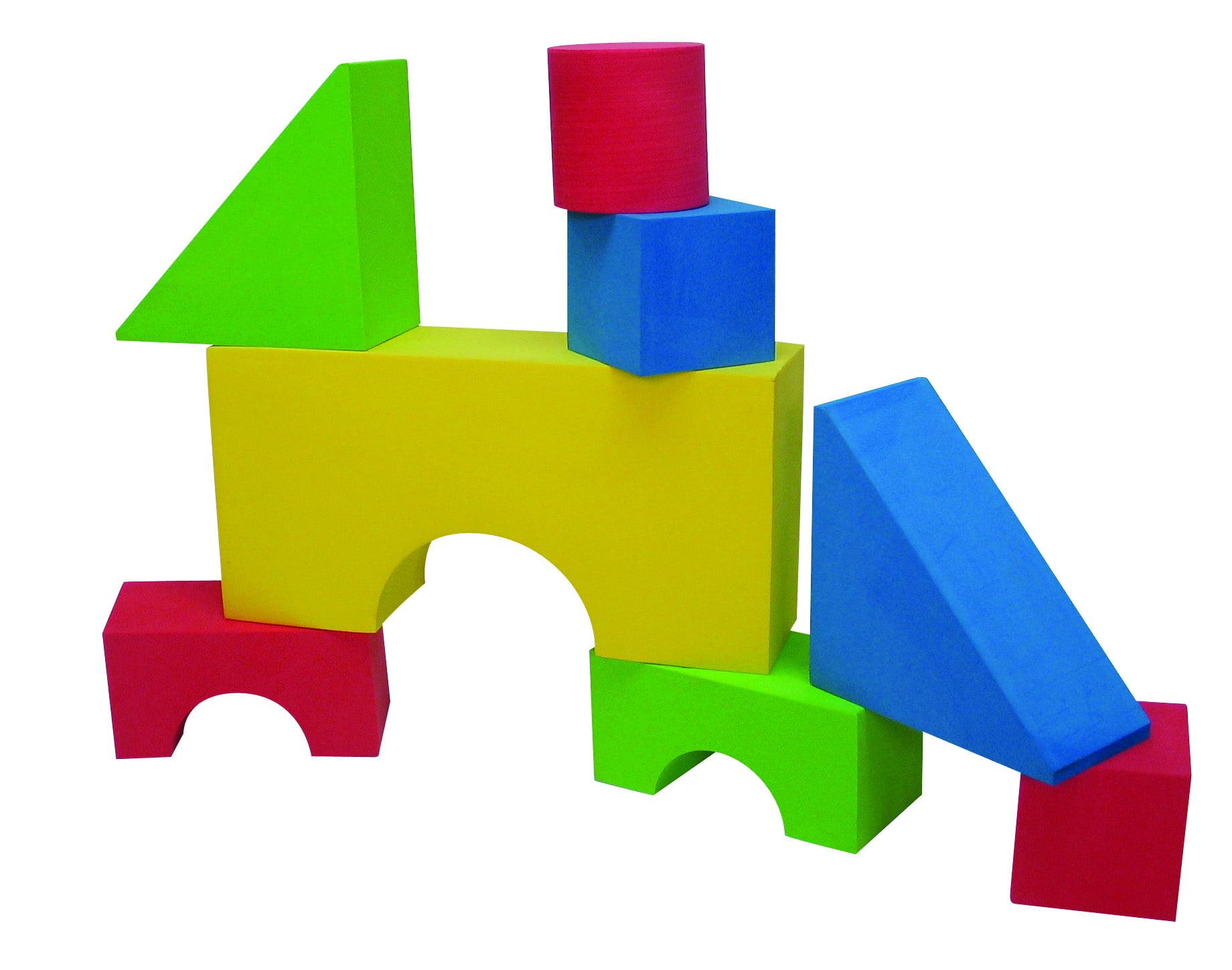 Edushape Giant Block Set, 32 Pieces by Edushape