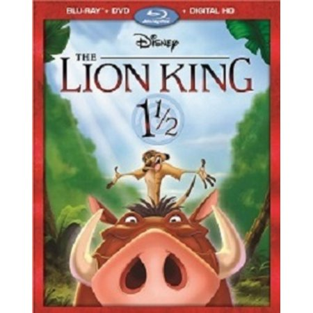 The Lion King 1 1/2 (Blu-ray + DVD + Digital HD)