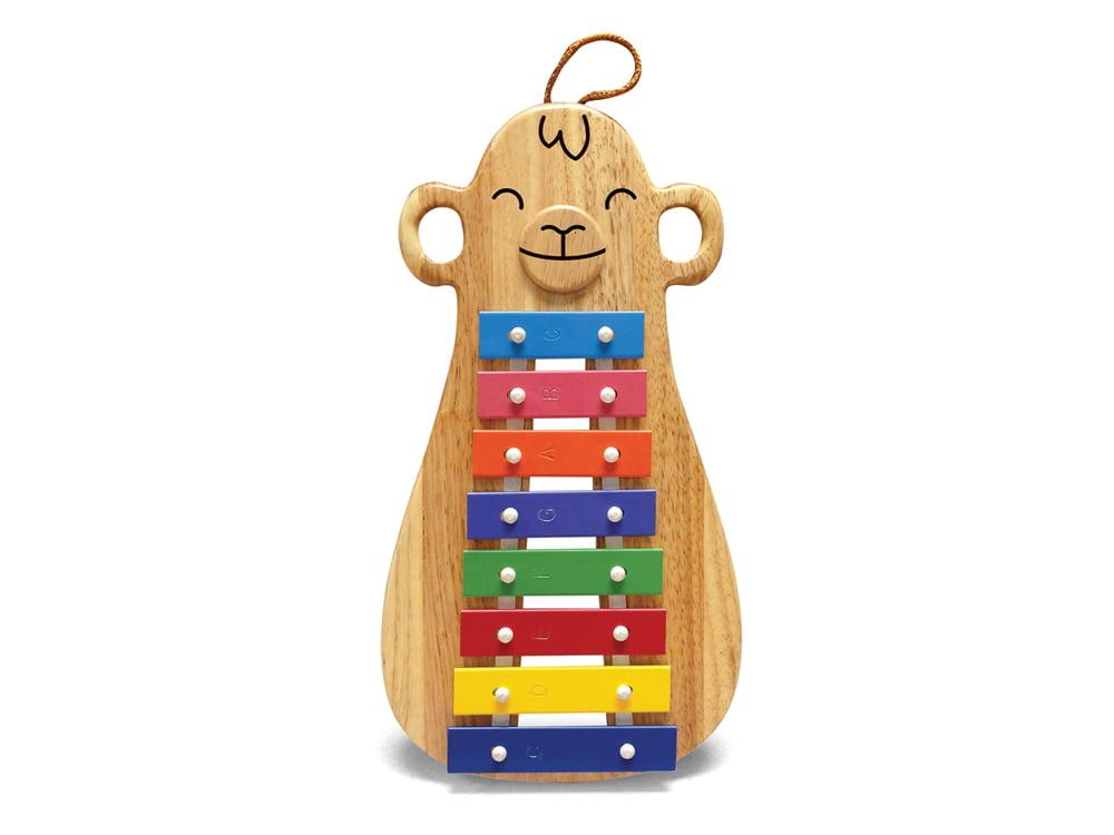 Hohner Green Tones Model #3730 Monkey Glockenspiel Toy For Children 3+ Years by Green Tones