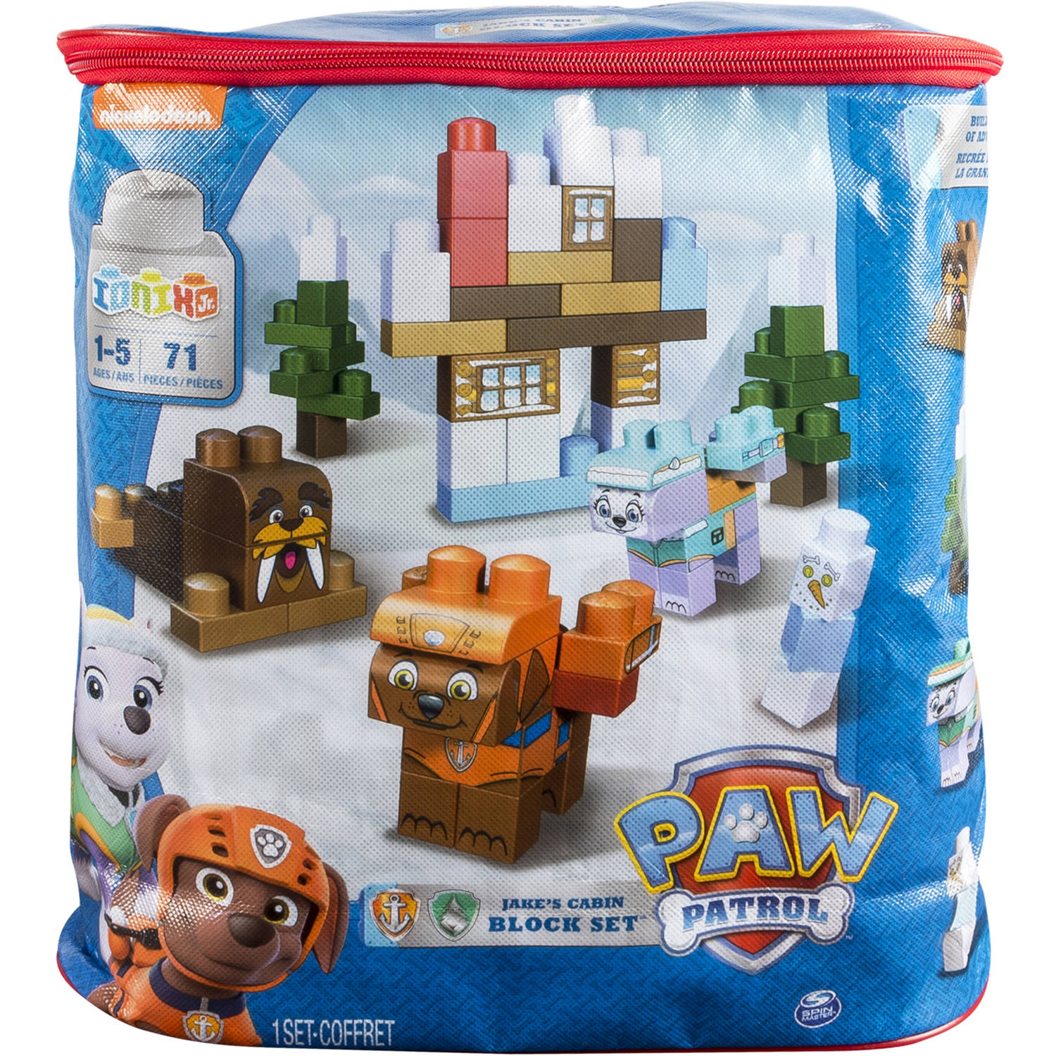 IONIX Jr. PAW Patrol, Jake's Cabin Block Set