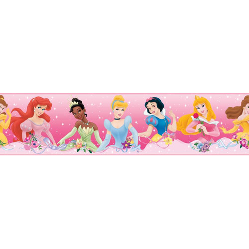 Wallhogs Disney Princess Dream From the Heart Room Border Wall Mural