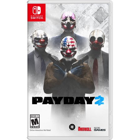 Payday 2 Halloween Poster (Payday 2, 505 Games, Nintendo Switch,)