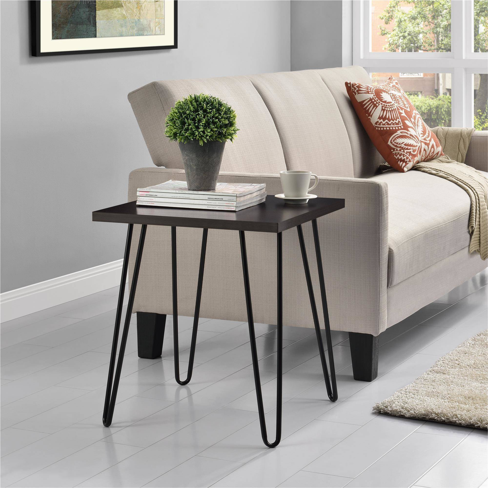 Mainstays Retro Accent Table, Multiple Colors