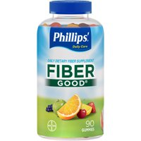 Phillips' Fiber Good Daily Supplement Gummies, 90 Count