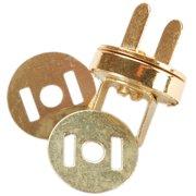 Sunbelt Magnetic Purse Snap 14mm 1/Pkg-Gold