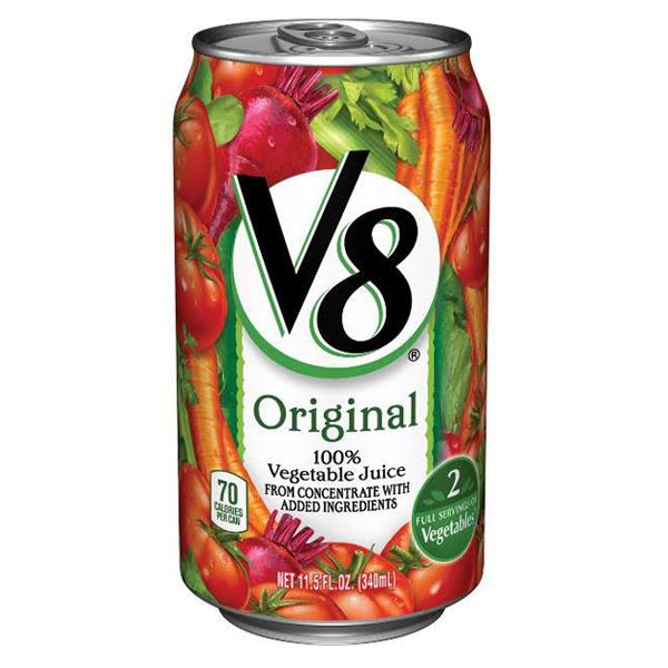 V8 Original 100% Vegetable Juice 11.5 oz Cans - Pack of 24