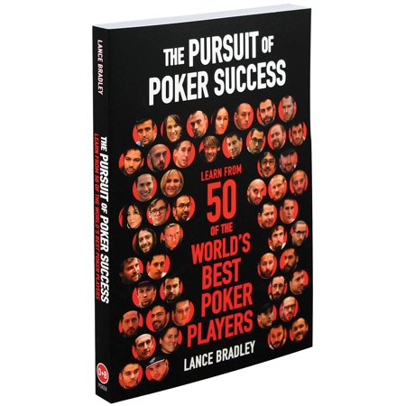 The Pursuit Of Poker Success Book Softcover 300 Pg - Best Cash Game