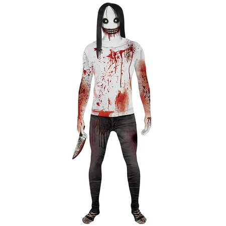 Cool Halloween Costumes With Morphsuits (Jeff the Killer Adult Morphsuit)