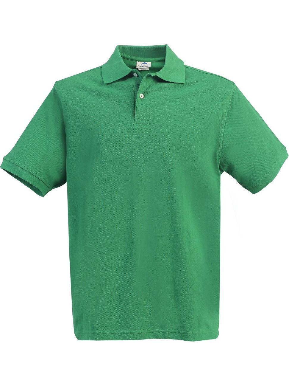Little Boys Girls Green Short Sleeve School Uniform Polo Shirt 4-7