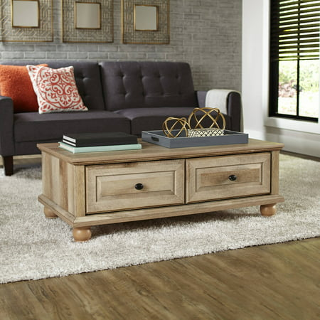Better Homes & Gardens Crossmill Coffee Table, Weathered Finish ()