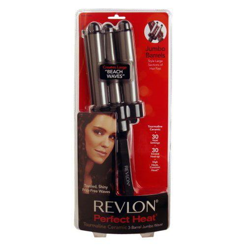 Revlon Perfect Heat 3 Barrel Deep Waver Styling Curling Iron
