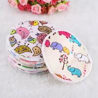 Ejoyous 12pcs Soft Washable Bamboo Fiber Anti-spill Breastfeeding Pads Maternity Nursing Pad, Breast Nursing Pads,Breastfeeding Pads