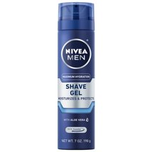 Shaving Creams & Gels: Nivea Men Maximum Hydration Moisturizing Shaving Gel